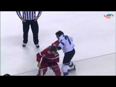 Kyle Hagel vs Alex Gallant