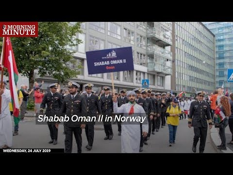 Shabab Oman II in Norway