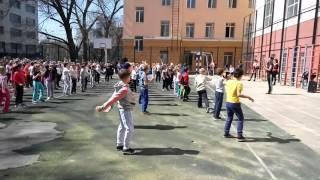 Флешмоб. Ростов-на-дону школа 43. День здоровья