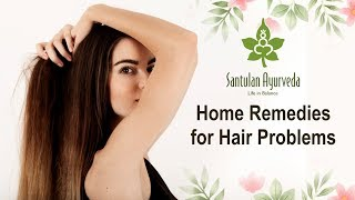 Home Remedies For Hair Problems - Tips To Use Santulan Village Hair Cream