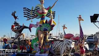 Летние праздники Испании и Аликанте, Hogueras de San Juan 2018