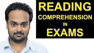 READING COMPREHENSION in Exams, Tests - Strategies, Tips and Tricks - Building Reading Skills