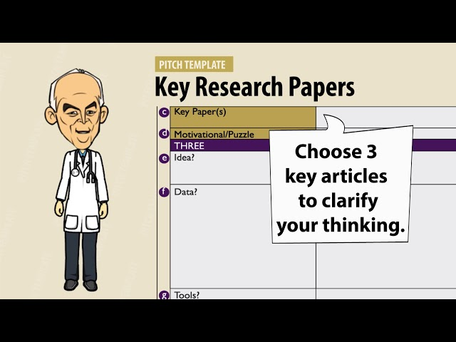 Pitching Research - Guide