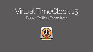 Virtual TimeClock Basic Edition