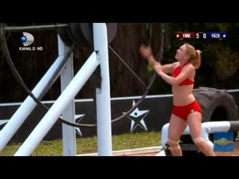 Exatlon Romania (20.01.2019) - Inceput in forta pentru Faimosi! Diferenta uriasa la scor! Partea 2