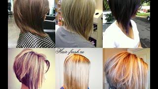 Trendy Bob Haircuts - Sharp Angled Bob