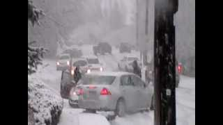 Cars Sliding & Crashing in Bountiful 400 north, Bridgestone Commercial 2013