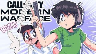 Modern Warfare when you're 4 weeks on Anime