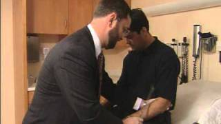 Cranial Nerve Test with Pat LaFontaine & Dr. James Kelly
