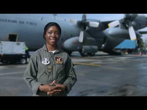NIGERIAN AIR FORCE WOMEN OF WAR