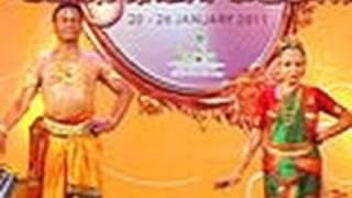 Kuchipudi performance by Raja & Radha Reddy and Yamini Reddy