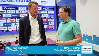 FCM-Sportchef Maik Franz