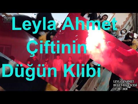 Leyla Ahmet Çiftinin Düğün Klibi.