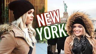 CHRISTMAS IN NEW YORK! BRIANNA FOX VLOGMAS 9 & 10!