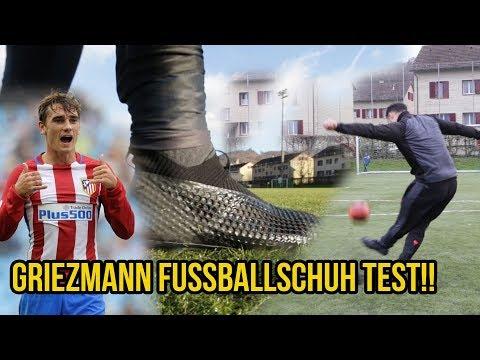 Antoine Griezmann Fussballschuhe Test & Krasse Freistösse!!