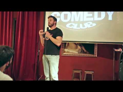 Javi Meroño prueba de texto club de la comedia