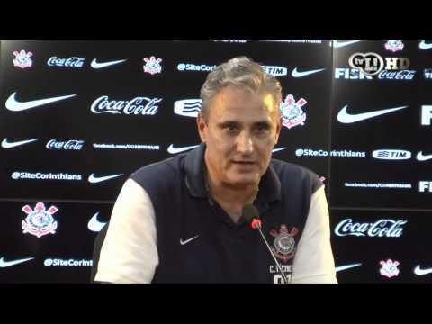 Tite se emociona hablando sobre Corinthians y su hinchada
