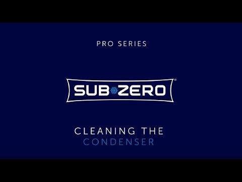 Sub-Zero PRO Series - How To Clean the Condenser