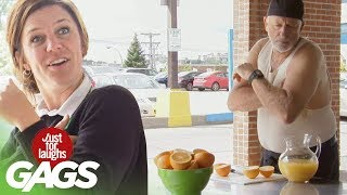 bromas farse con jugo de naranja