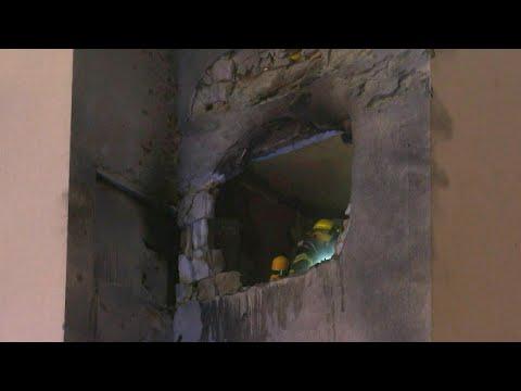 Un immeuble à Sderot touché par une roquette tirée depuis Gaza | AFP Images Un immeuble à Sderot touché par une roquette tirée depuis Gaza | AFP Images