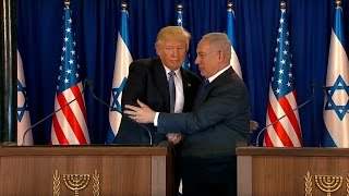 President Trump Gives Remarks with Prime Minister Benjamin Netanyahu of Israel
