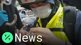 This First Aider is Supporting Protesters in the Hong Kong Protests
