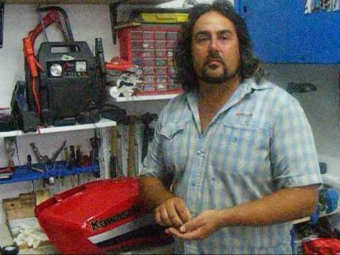 solve simple carburator problems. KOKKINA FEGARIA TECH