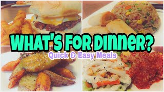 What's For Dinner?   Real Life Meal Ideas   Quick and Easy Meals