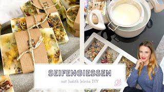 Seifengießen | Seifen selber machen | Weihnachten | Geschenk | Seife herstellen | Judith Jelena DIY