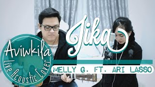 Gambar cover Melly feat Ari Lasso - Jika (Live Acoustic Cover By Aviwkila)