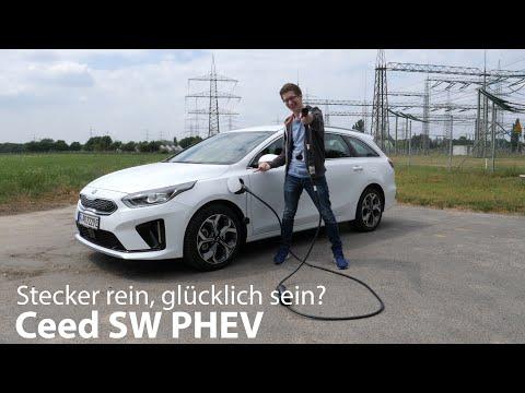 Kia Ceed SW Plug-in Hybrid Test: Verbrauch, Reichweite, Alltagseindrücke [4K] - Autophorie