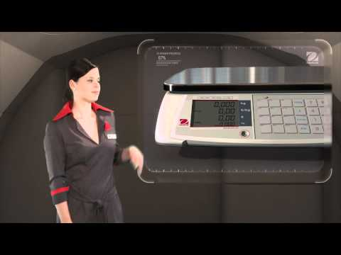 Video Balance professionnelle commerciale Aviator 7000 OHAUS