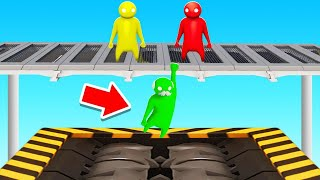 SAVE GRANDPA From The SHREDDER! (Gang Beasts)