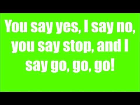 The Beatles  Hello, Goodbye  ( Lyrics )