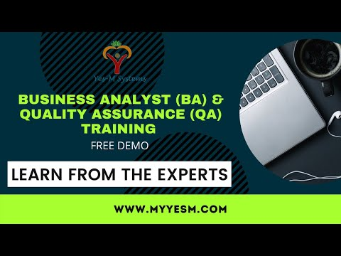 BA Training Demo 2021 | Business Analyst Training | Yes-M Systems