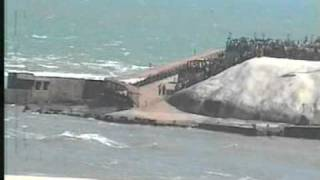 Sea Waves Predicted Tsunami Coming at Kanniyakumari