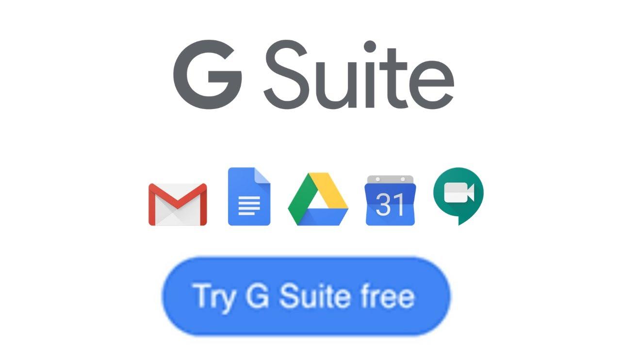 Gsuite Gratis 2019 G suite