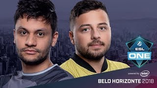CS:GO - SK vs. Space Soldiers [Dust2] Map 2 - Group A Decider Match - ESL One Belo Horizonte 2018