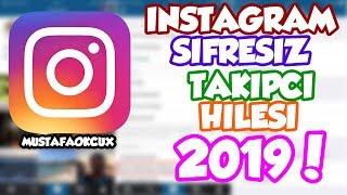 İNSTAGRAM ŞİFRESİZ TAKİPÇİ HİLESİ +5 BİN! %100 Gerçek ! - instagram takipçi kasma!