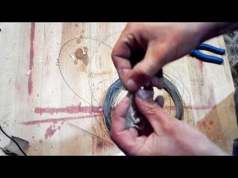 Изготовление петель для шкатулок и навеска шкатулки.