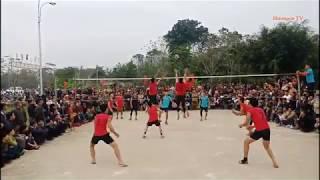 Chung kết bóng chuyền hội Mường Đòn séc 2    Bóng chuyền Thạch Thành 2019