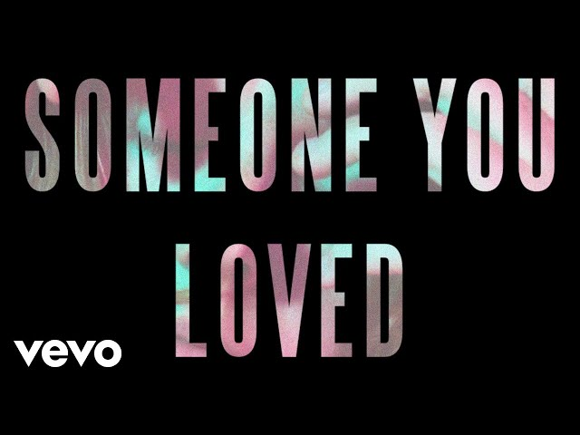 Lewis Capaldi Someone You Loved Official Audio