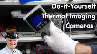 #247 Do-it-Yourself Thermal Imaging Cameras (AMG8833, MLX90640, M5Stack, Arduino IDE) and Flir one
