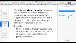 Straw man fallacy vs. fallacy of missing the point vs. the red herring fallacy