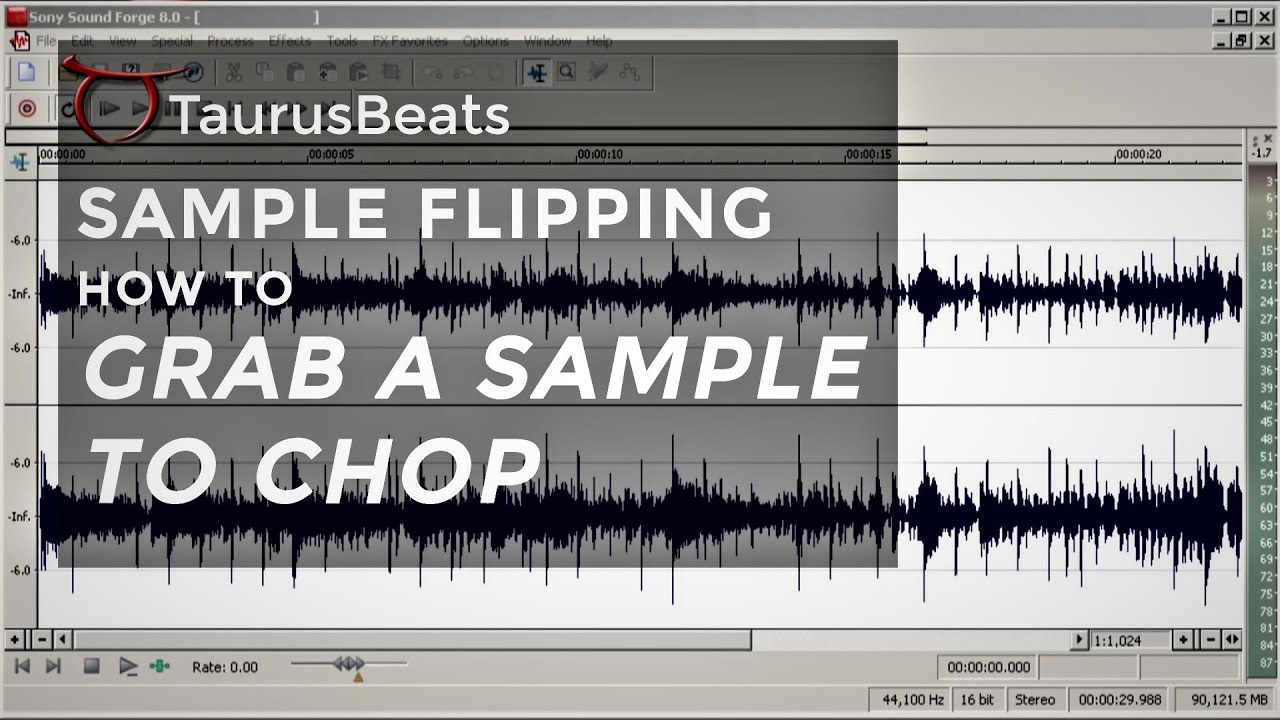 image for Sample Flipping Walk-through Session on How to Grab a Sample to Chop | Calling