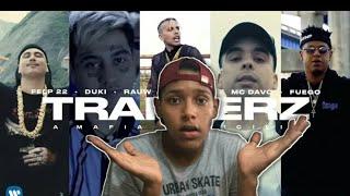 (REACCION)Felp 22,Rauw Alejandro - TRAPPERZ A Mafia Da Sicilia (feat.MC Davo & Fuego) *PURO FUEGO*💣