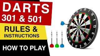 How to play Darts Game : Rules of Darts Board Game : Darts