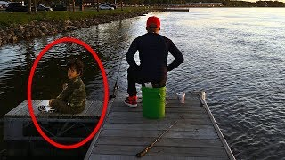 Stranger Spots Father And Son Fishing. Seconds Later, The Boy Starts Screaming.