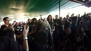 "Danger Danger ""Don't Walk Away"" M3 Rock Festival, Columbia, MD 5/3/13 live"
