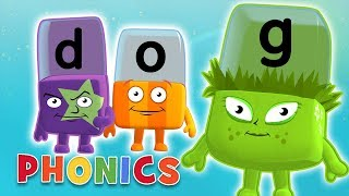 Phonics - Simple Spelling   Learn to Read   Alphablocks